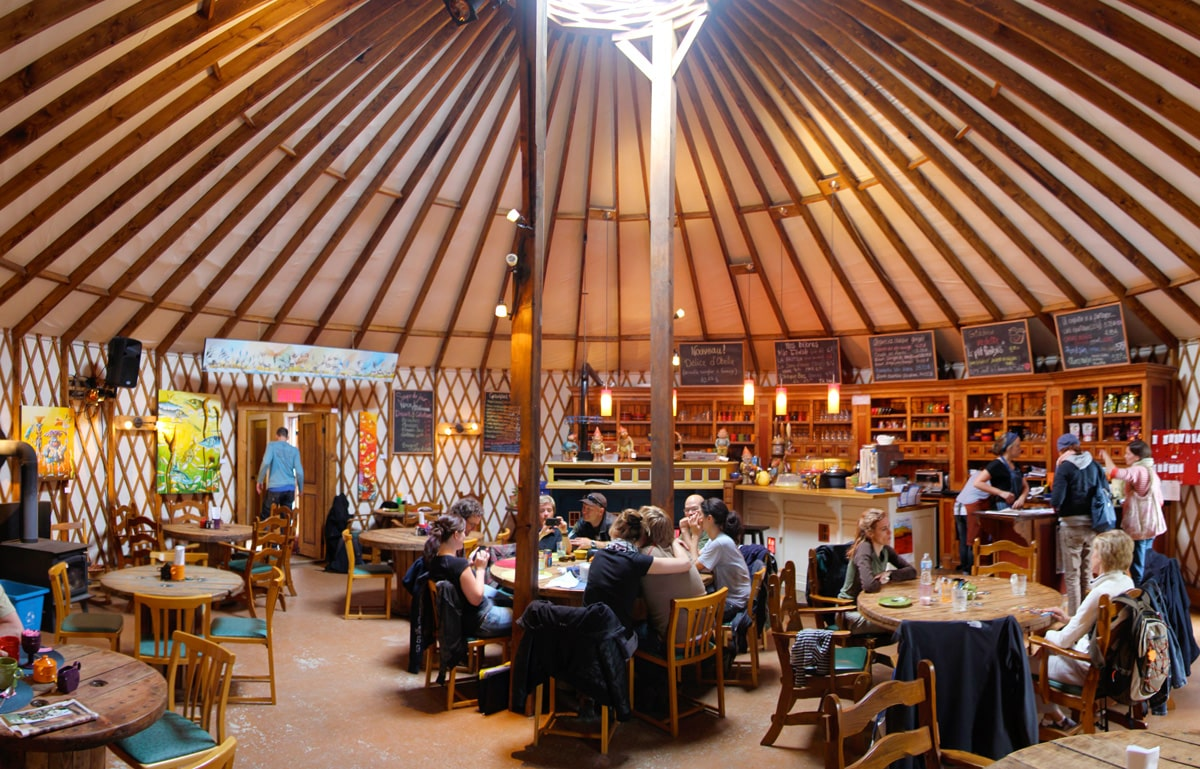 Open your door to the world
