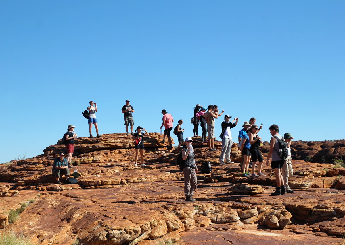 The world is just one step from here