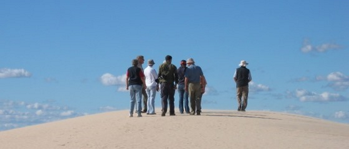 Picture 7: Group of people in desert